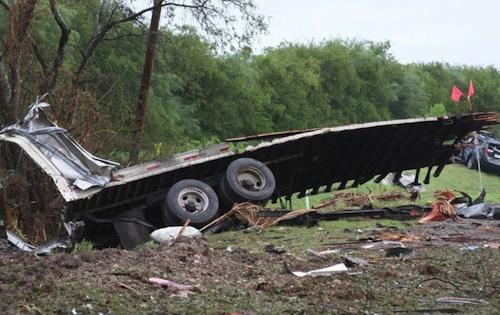 Takata airbag trucking explosion
