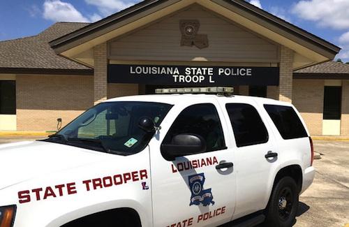 log truck driver killed in Louisiana