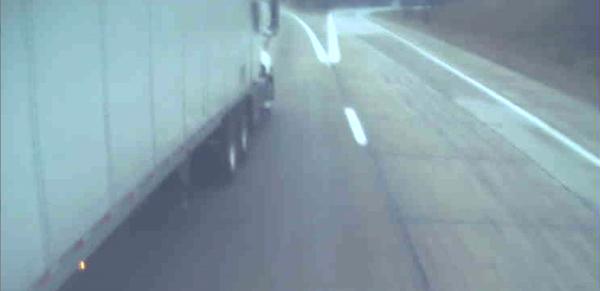 truck driver road rage caught on dashcam