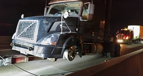 truck driver charged after I-270 chase