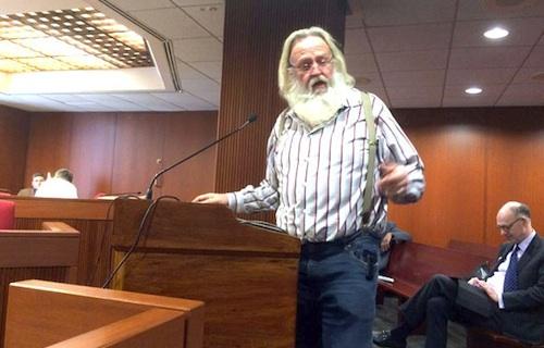 Dan Matthews argues against bill