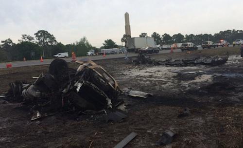 tanker truck crash on I-75