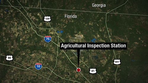truck driver arrested on I-75 after bomb threat
