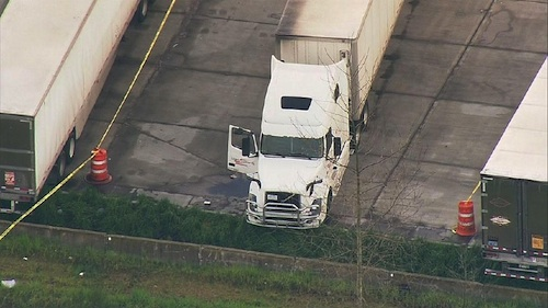 truck driver stabbed