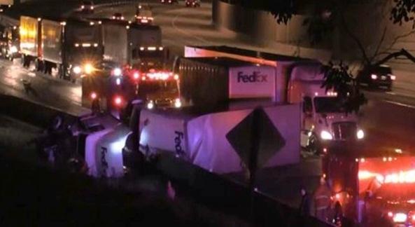 FedEx Crash California
