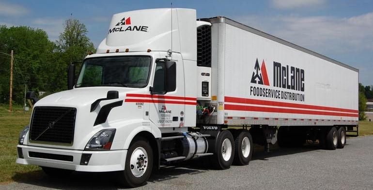 McLane Truck taking a break