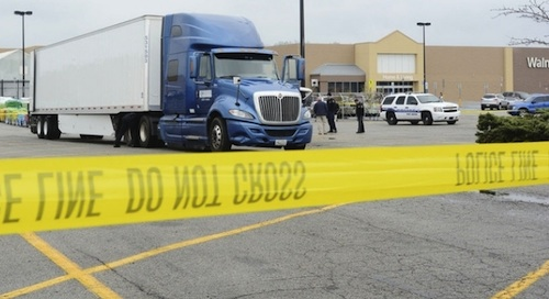 Wal-Mart Employee Killed By Truck