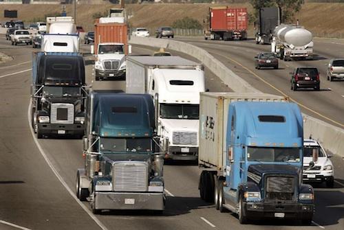 trucking safety improves