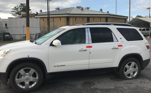 SUV shot at in road rage incident