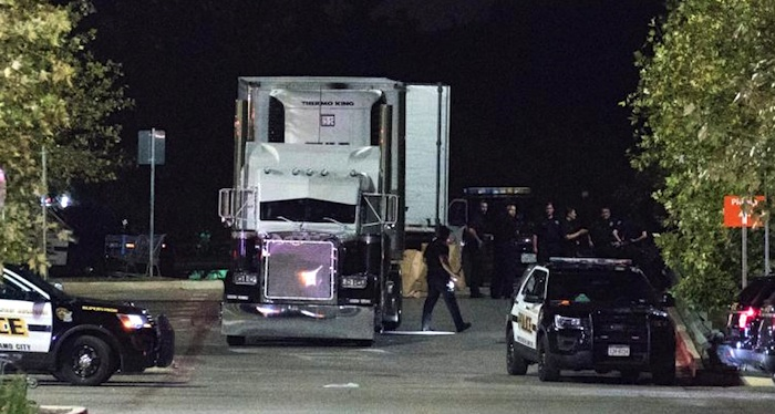 9 found dead in tractor-trailer